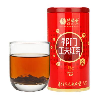 艺福堂茗茶 茶叶 新茶 特级祁门红茶 200g/罐
