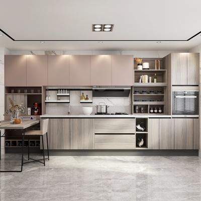 歐派整體廚房櫥柜定做現代簡約開放式小戶型經濟實惠櫥柜12800套餐預付金