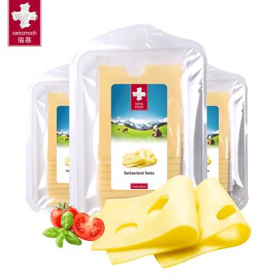 瑞慕瑞士原裝進口原制奶酪無添加大孔奶酪片兒童補鈣輔食芝士乳酪片即食120g*3