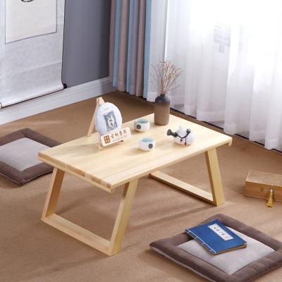 赛可优日式榻榻米桌小茶几简约飘窗桌窗台桌实木炕桌矮桌中式阳台小桌子