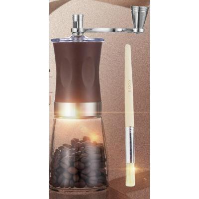 单品手工手动磨咖啡豆打粉碎机现研磨机器迷你磨豆机手摇小型家用
