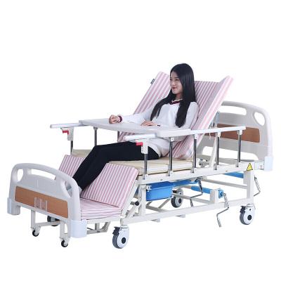 永輝手動護理床家用多功能床病人床老人翻身床醫用帶便孔病床