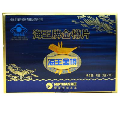 海王金樽 海王牌金樽片 3g*12袋/盒 化學性肝損傷輔助保護作用