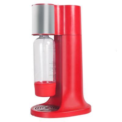氣泡水機家用蘇打水納麗雅(Naliya)汽泡碳酸飲料打氣機奶茶店商用 大吉紅