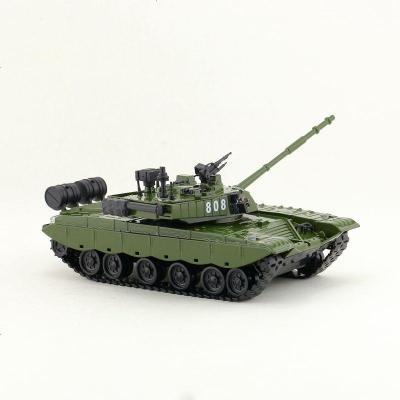 T-99主战坦克 迷彩绿 玩具 合金模型仿真玩具1:32军事主战坦克T-99装甲车声光