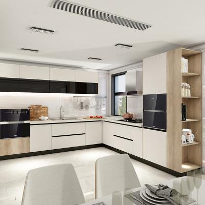 欧派橱柜定制 整体橱柜定做 开放式厨房装修 现代简约灶台柜拉萨尼亚预付金