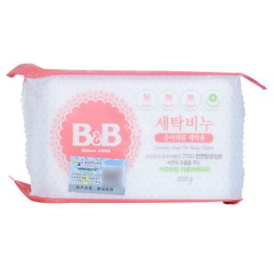 保寧(B&B)母嬰幼兒童洗衣香皂(甘菊香)200g 有香味洗衣皂