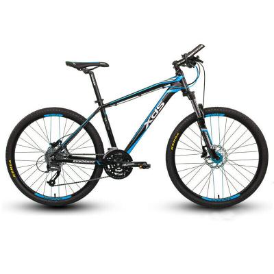 xds喜德盛山地自行车逐日600 禧玛诺27速17英寸铝合金山地车26英寸轮径油压碟刹男女学生变速赛车学生单车