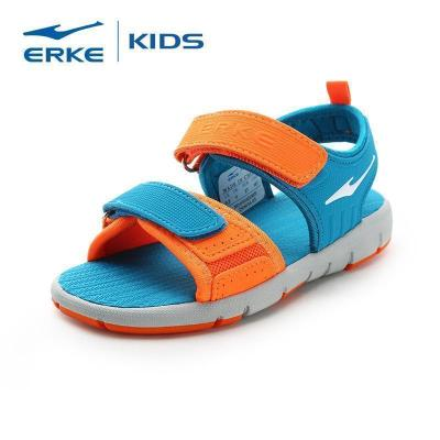 鴻星爾克(ERKE)兒童運動涼鞋青少年鞋中大童男女童寶寶小孩沙灘鞋子