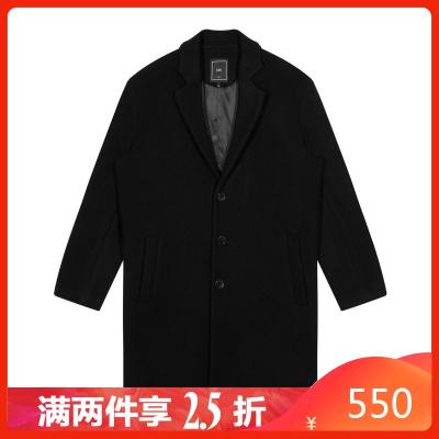 【两件2.5折价:550】秋季新款男款商务休闲防风长款大衣