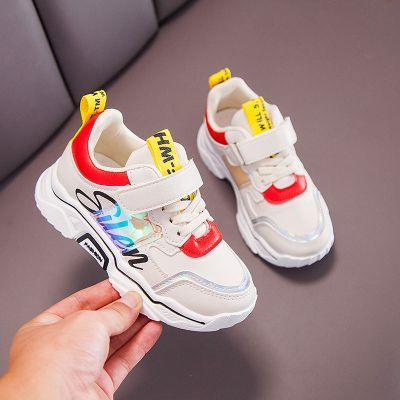 【品牌特賣】2019秋冬季新款加絨兒童運動鞋女中小童鞋子男童跑步鞋寶寶學步鞋
