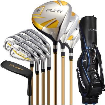 登路普(DUNLOP) 高尔夫球杆 全套杆 男士套杆 球具 钛合金 碳素杆 FURY系列