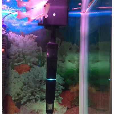 鱼缸紫外线UV潜水灯灯鱼缸水质水族箱除藻上过滤 3W杀菌灯+水泵6W