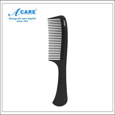 acare艾呵 大苹果梳#梳子碳纤维梳尖尾梳卷梳防静电梳子套装大齿头梳理专用梳
