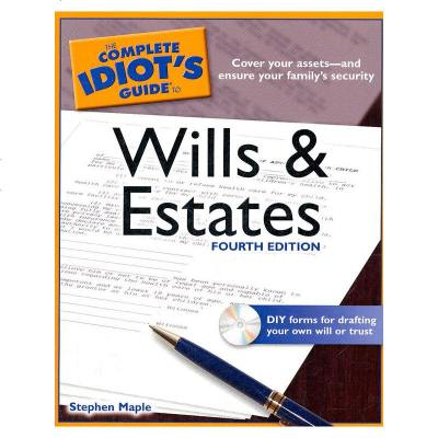 1001TheCompleteIdiot'sGuidetoWillsandEstates,4thEdition(IS