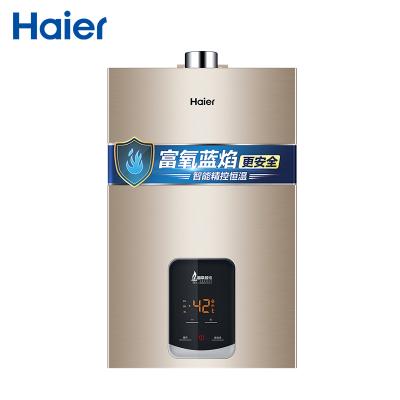 Haier/海尔热水器 燃气热水器JSQ25-13LQ1(12T) 13升 智能变升 太空银双感温系统