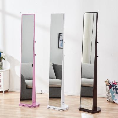 妙旭鏡子穿衣鏡全身鏡落地鏡家用儲物旋轉試衣鏡臥室女簡約立體大鏡子