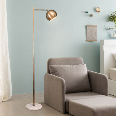 Grevol創意個性落地燈客廳臥室ins風裝飾釣魚燈簡約現代LED書房立式燈具