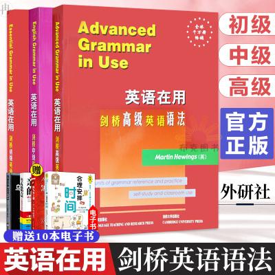 【英文版】English Grammar in Use全英文原版 英语在用剑桥初级中级高级英语语法 全套3册 实用大学英