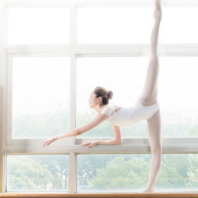 好貨芭蕾舞練功服成人 蕾絲 體服女形體服舞蹈服連體服基訓服