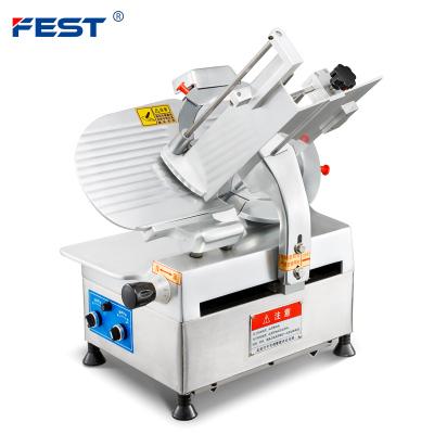 FEST 12寸全自动切片机 羊肉商用切片机 刨肉机刨片机肥牛切肉机