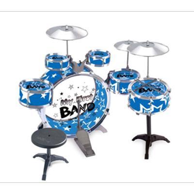 大号架子鼓儿童初学者爵士鼓玩具乐器1-3-6岁9男孩宝宝敲打鼓礼物