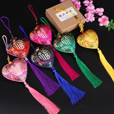 特色送老外禮品中國結小掛件古風端午節香包隨身香囊汽車車載掛飾