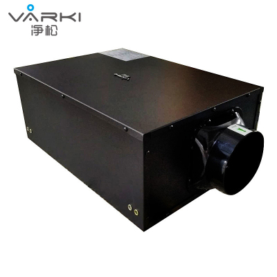 凈松(VARKI)500風量大型商用中央吊頂新風系統 通風換氣機設備 單向流送風機 排煙霧二手煙甲醛除塵VF-D500Z