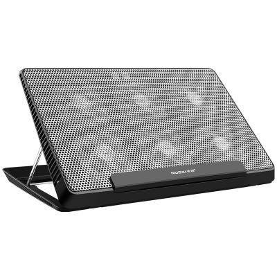 诺西外星人笔记本散热垫器15.6华硕17联想戴尔电脑排风扇架板底座垫14 风冷(黑色)