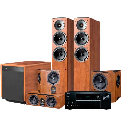JAMO/尊宝 C605+C60CEN+C60SUR+SUB260+TX-NR575功放家庭影院音响5.1音箱套装