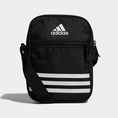 Adidas阿迪達斯男包女包2020春季款帆布單肩包斜挎包運動包DZ9239 DZ9239 20升以下