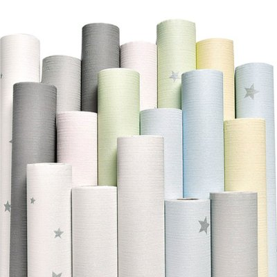 簡約現代生活日用家居百貨墻紙自粘臥室客廳裝飾墻貼背景墻溫馨女孩房間壁紙貼紙PVC墻紙