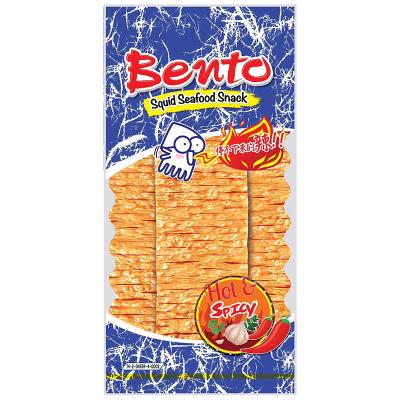 泰國進口特產 BENTO拌多樂香蒜味魷魚片20G 手撕魷魚片辣條零食