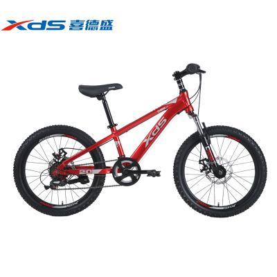 喜德盛中國風兒童自行車8-10-12-14男女孩20寸7變速雙碟剎鋁合金青少年單車學生車山地車