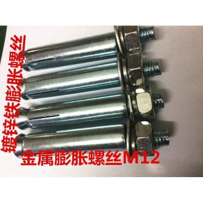 鍍鋅膨脹螺絲超長加長鐵膨脹螺栓M6M8M10M12M14M16M18M20國標