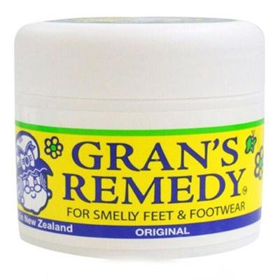 GRAN'S REMEDY 【品牌授权】老奶奶臭脚粉香港脚去膏药粉 泡粉50g 原味 * 1瓶