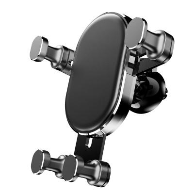 欒客(Luanke) 車載手機支架 出風口創意通用導航 重力感應多功能中控儀表臺 萬能通用型 桌面