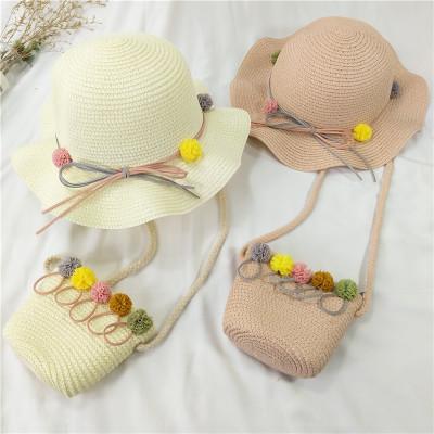 兒童遮陽帽女大帽檐寶寶女童帽防曬公主夏季出游海邊太陽沙灘帽
