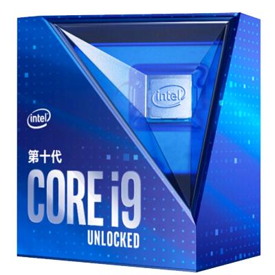 英特爾(Intel)i9-10900K 酷睿十核 盒裝CPU處理器 第十代酷睿 配套Z490、B460主板使用
