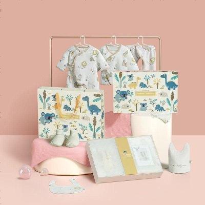 babycare嬰兒內衣禮盒 送禮 新生兒衣服六件套 純棉用品滿月禮盒八件裝 新生兒禮物