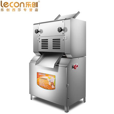 乐创(lecon) 压面机商用 全电动揉面擀面机压皮机压饺子皮馄饨皮机制面机LC-300豪华款压面机(可装面刀)