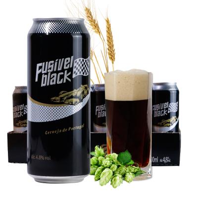 歐洲進口啤酒原裝進口啤酒黑啤500ml*24整箱黑啤酒特價黑啤