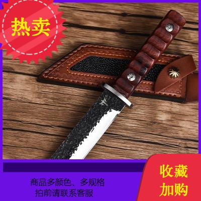刀具防身軍工刀野外生存小刀鋒利隨身鋼戶外求生直刀手工鍛打