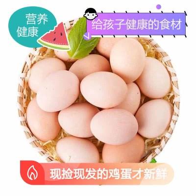 【農家自養】【營養健康】40枚裝草雞蛋 現撿現發(破損必賠)土雞蛋