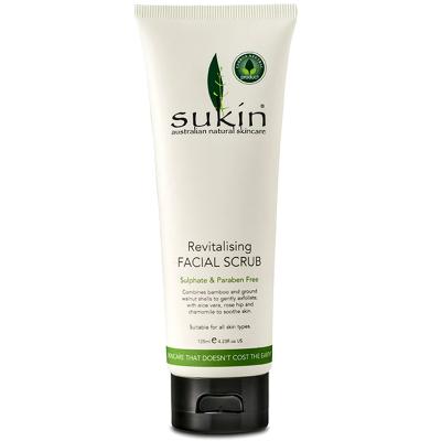 Sukin蘇芊 面部磨砂去角質植物溫和磨砂膏125ml/支 去死皮深層清潔膏各種膚質通用