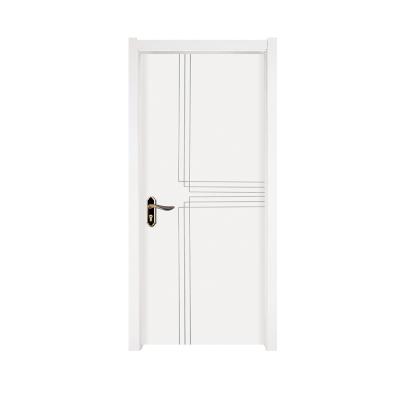 现代简约实木复合木门烤漆门免漆门卧室门套装门定制北欧浮雕木门
