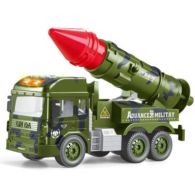 林达-会讲故事的军事系列车-追击炮战车8030-45坦克车导弹车男孩益智玩具
