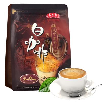 马来西亚进口三叔公老钱白咖啡原味480克/袋装 三合一速溶咖啡冲饮12条