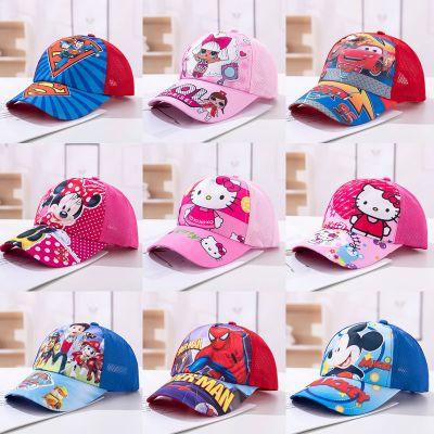 HKCP男女儿童棒球帽小学生春夏季遮阳防晒鸭舌帽卡通动画旺旺队公主帽