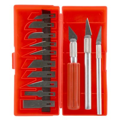 赛拓(SANTO) 1847 雕刻刀 模型刻刀 工艺雕刻 美术工具 壁纸墙纸贴膜刀 美工刀 套装